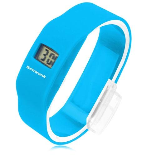 Sport Wristband Silicone Wrist Watch