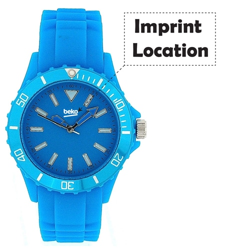Rugged Wrist Watch Imprint Image