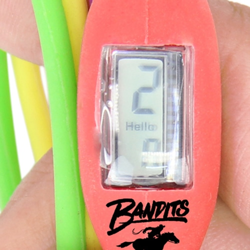 Silicone String Bracelet Wrist Watch
