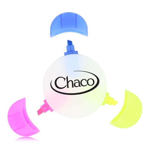 Three Color Circle Highlighter Image 1