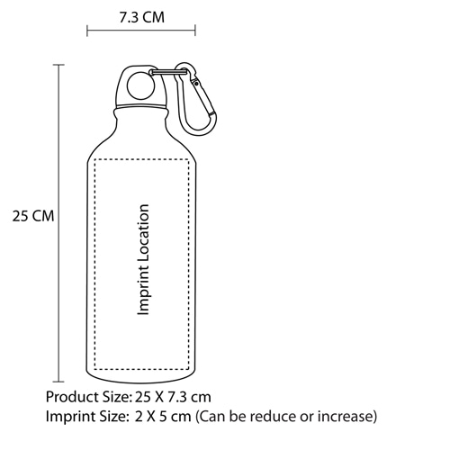 750ML Ultimate Aluminum Sports Bottle Image 7