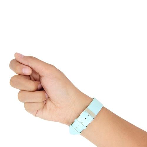 Elegant Leather Strap Wrist Watch