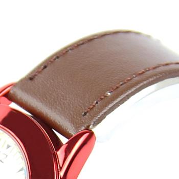 Dashing Leather Strap Analog Watch