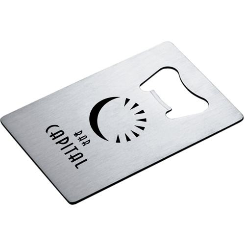 Custom Credit Card Bottle Opener