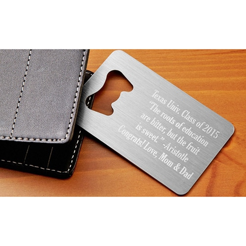 Custom Credit Card Bottle Opener  Image 4