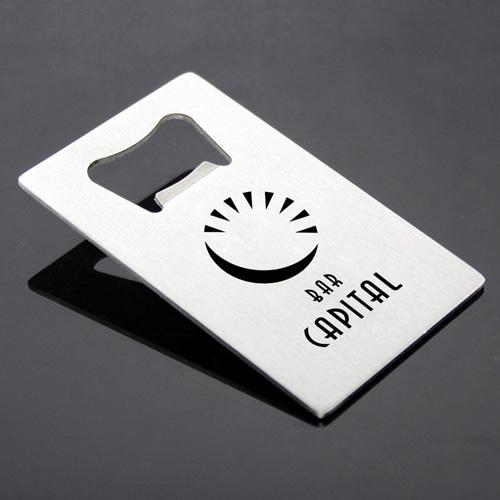 Custom Credit Card Bottle Opener