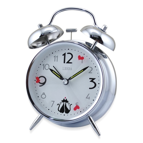 Creative Twin Bell Alarm Clock