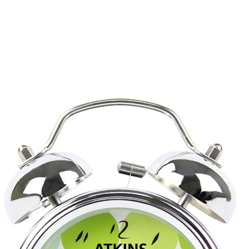 Shiny Double Bell Alarm Clock