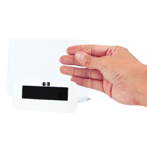 Message Board Clock With USB Hub
