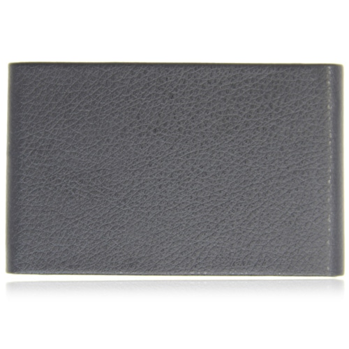 Vertical Leather Business Card Holder Image 2