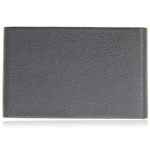 Vertical Leather Business Card Holder Image 2
