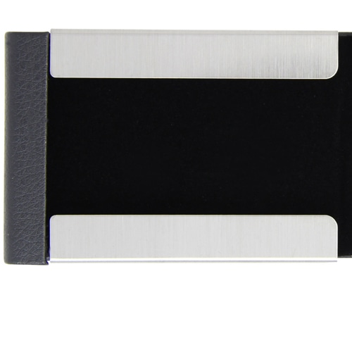 Vertical Leather Business Card Holder Image 6