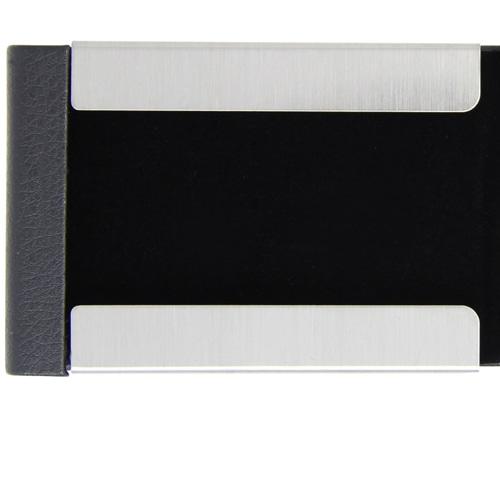 Vertical Leather Business Card Holder Image 6