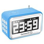 FM Radio With Digital Alarm Clock