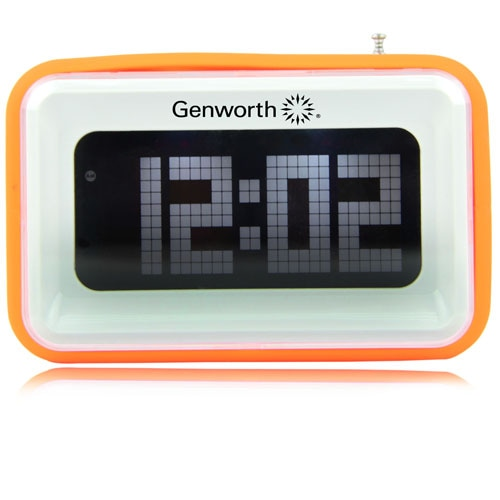 FM Radio With Digital Alarm Clock Image 4