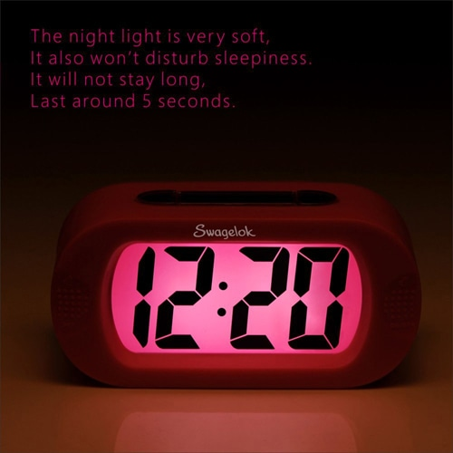 Trendy Snooze Light Alarm Clock Image 2