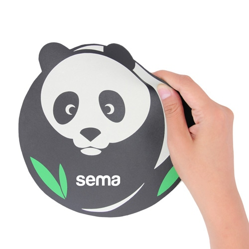 Circle Round Shape Mouse Pad