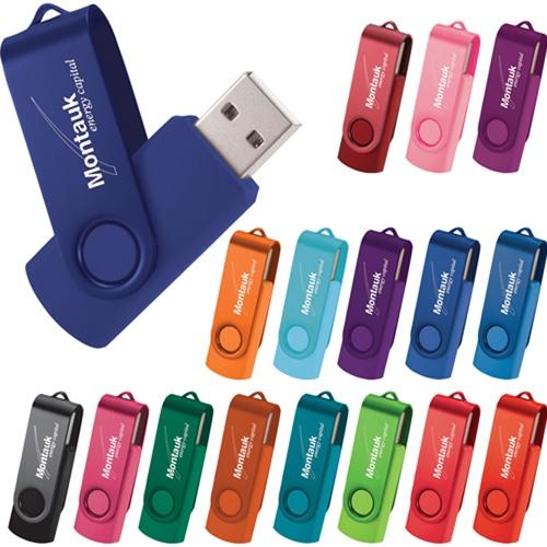 1GB Twister Swivel Flash Drive