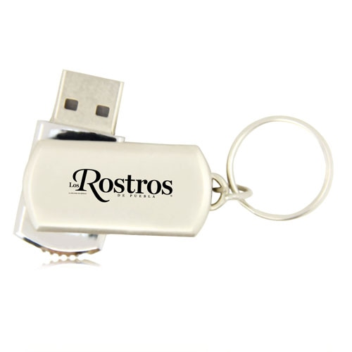 1GB Swivel Metal Flash Drive Image 11