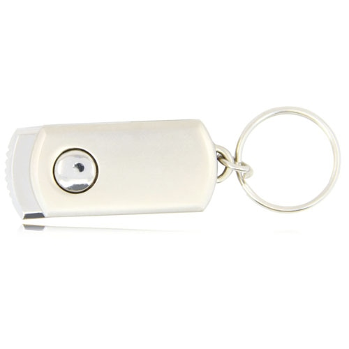 1GB Swivel Metal Flash Drive Image 6