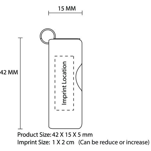1GB Dap Swivel Flash Drive