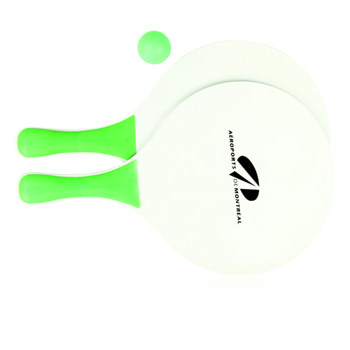 Beach Paddle Racket Set Image 2