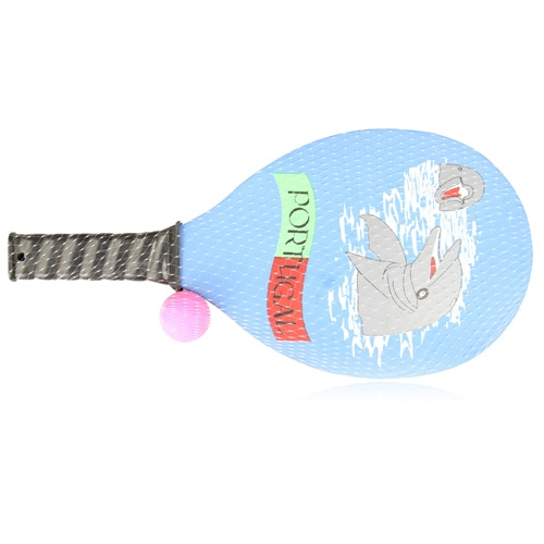 Beach Wooden Racket With Ball