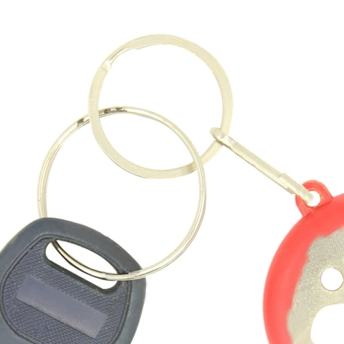 Smile Keychain Opener Light With Tape Measure Image 9