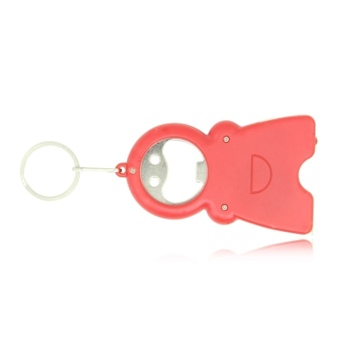 Smile Keychain Opener Light With Tape Measure Image 2