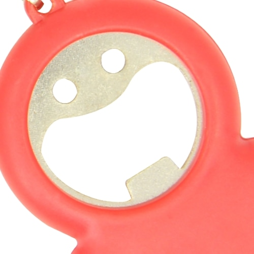 Smile Keychain Opener Light With Tape Measure Image 8