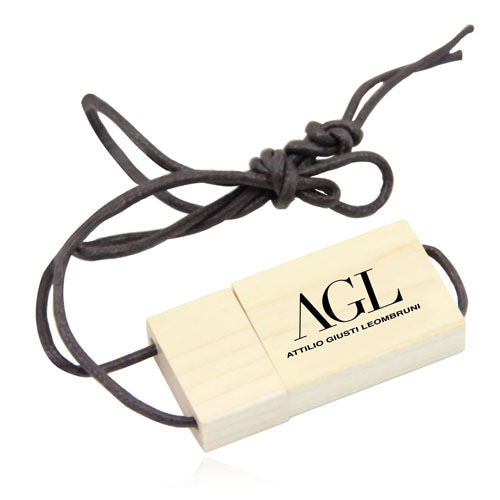 1GB Eco Wooden Flash With Lanyard Image 9