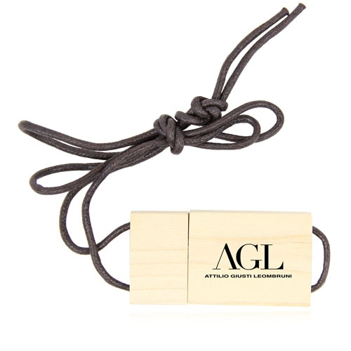1GB Eco Wooden Flash With Lanyard Image 5