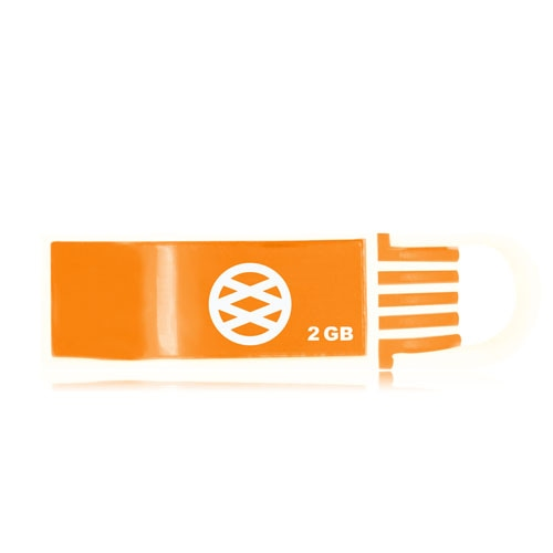 1GB Curved USB Flash Drive