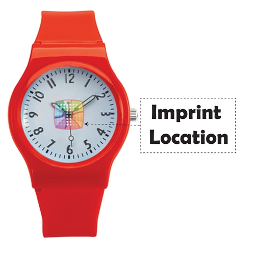 EveryDay Silicone Watch Imprint Image