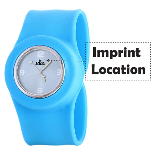 Slap On Wrist Watch Imprint Image
