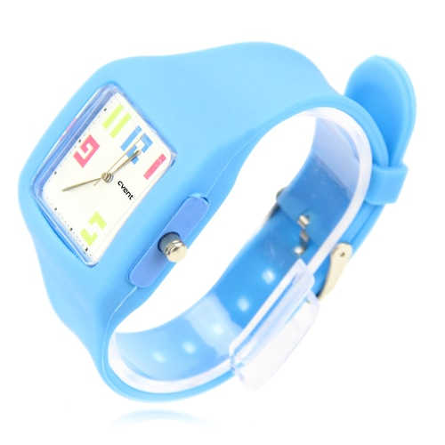 Classy Silicone Watch Image 1