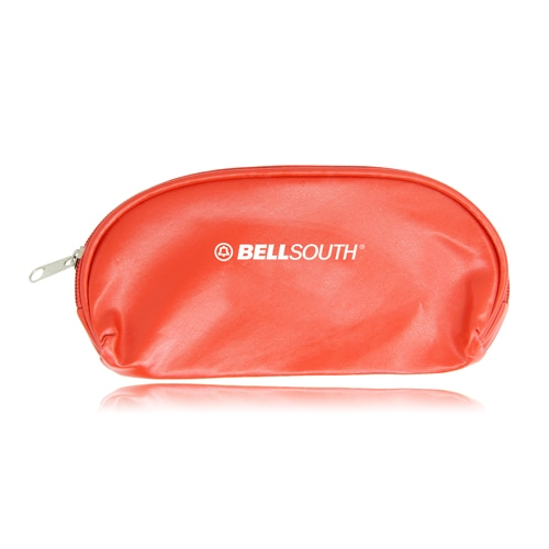Zipper Leather Pouch