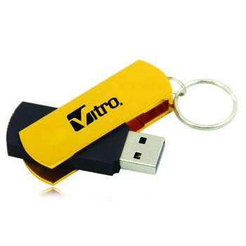 2GB Excello Swivel Flash Drive