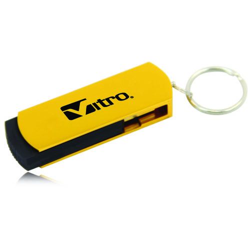 4GB Excello Swivel Flash Drive Image 2