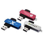 16GB Excello Swivel Flash Drive