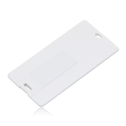 8GB Mini Credit Card Flash Drive Image 2