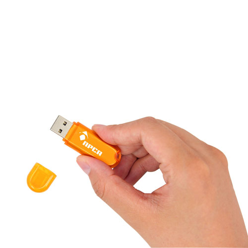 4GB Classy Translucent Flash Drive Image 5
