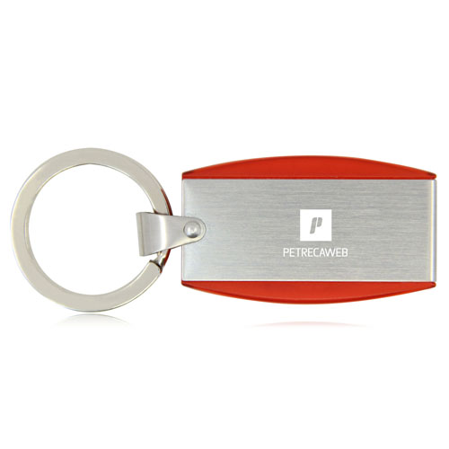 4GB Deluxe Keyring Flash Drive Image 1