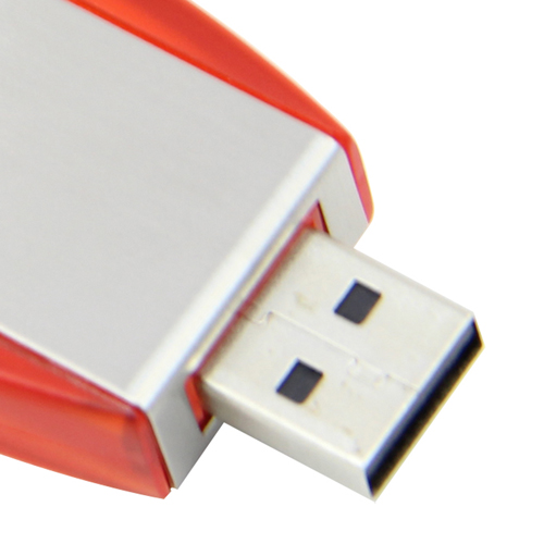 8GB Deluxe Keyring Flash Drive Image 7