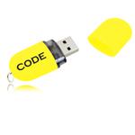 16GB Ritzy Oval Flash Drive