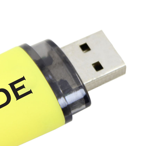 32GB Ritzy Oval Flash Drive Image 5