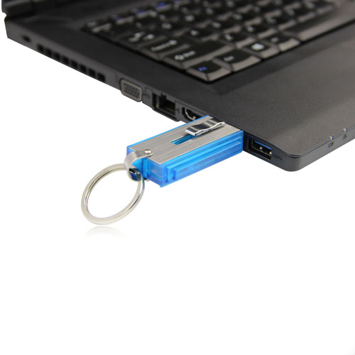 16GB Retractable USB Flash Drive Image 3