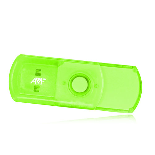 2GB Translucent Mini USB Flash Drive
