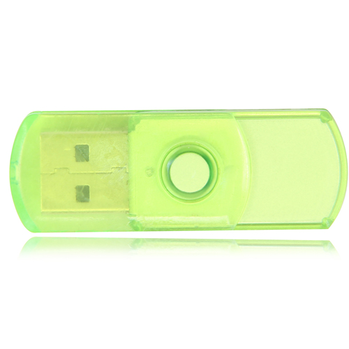 2GB Translucent Mini USB Flash Drive Image 1