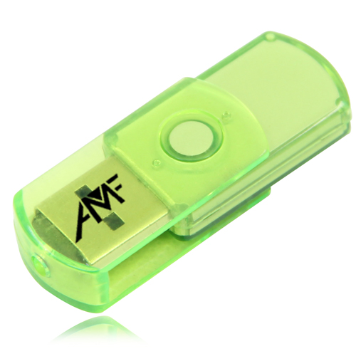 8GB Translucent Mini USB Flash Drive Image 6